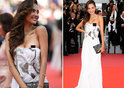 Mexican bombshell Patricia Contreras suffers wardrobe malfunction from hell as asset pops out of dress at the Cannes Film Fstival 2018